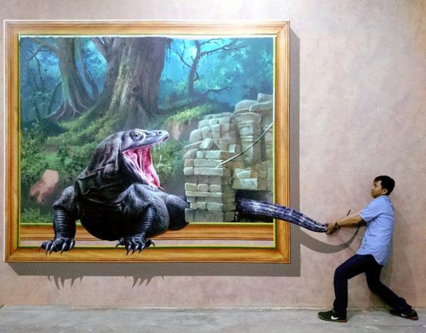 Amazing Art World Bandung Museum 3d Terbesar Indonesia Gallery Musium