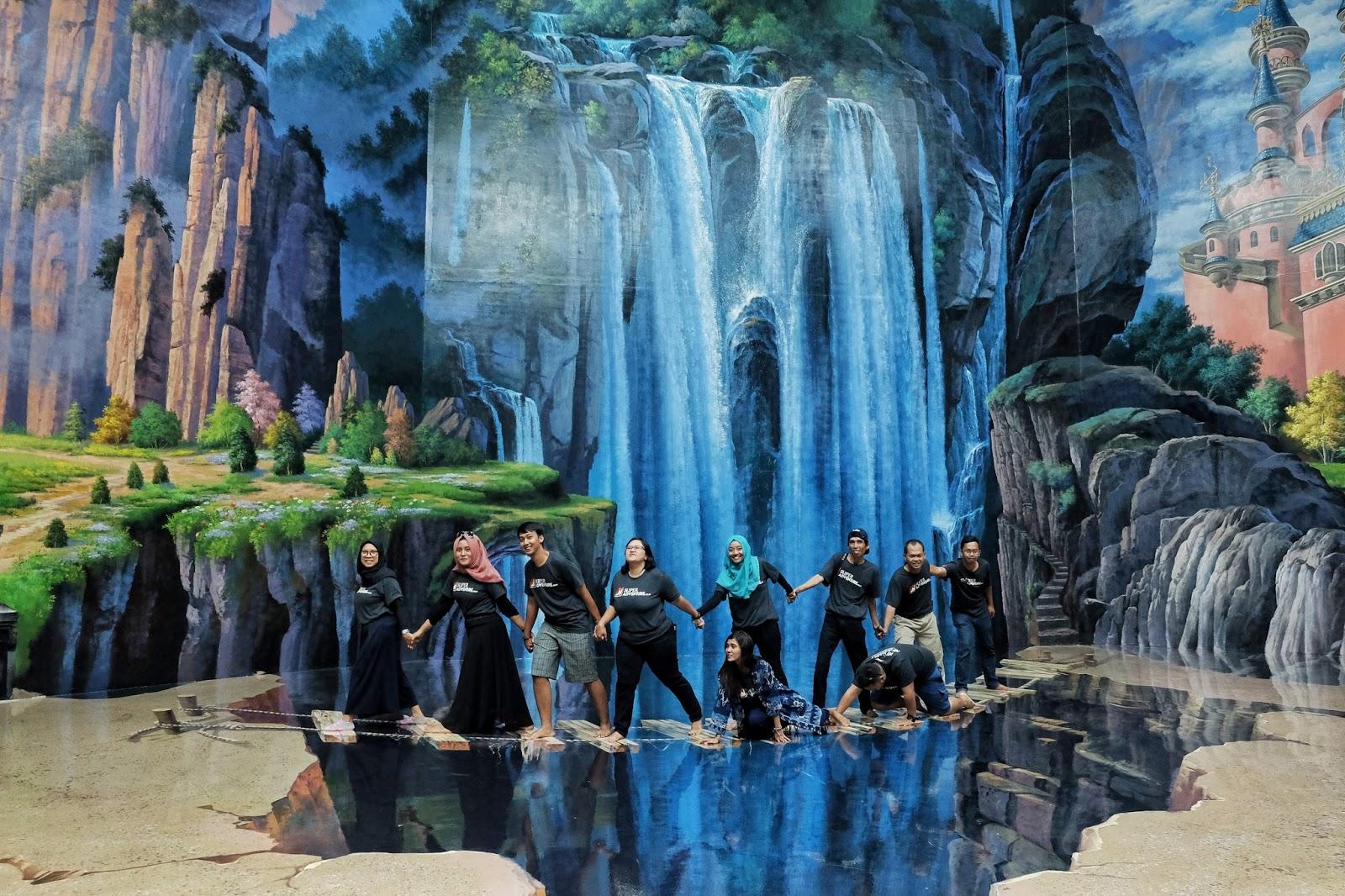Amazing Art World Bandung Rasa Korea Jet Vacation Disebut Terbesar