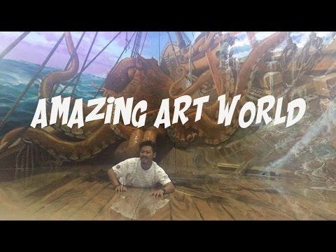 Amazing Art World Lembang Bandung Museum 3d Youtube Musium Kota