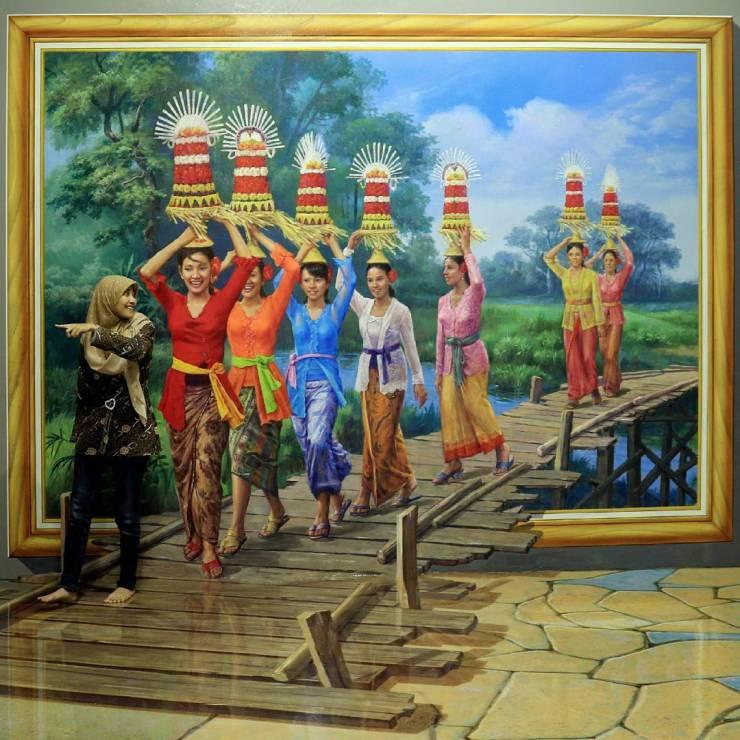 Amazing Art World Museum 3d Bandung Thailand Punya Magic Eye