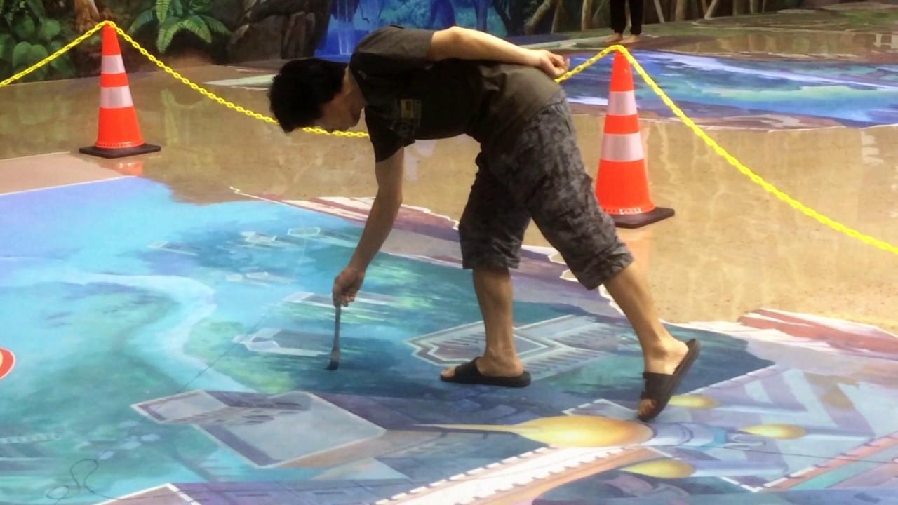 Amazing Pembuatan Lukisan 3d Art World Bandung Youtube Musium Kota