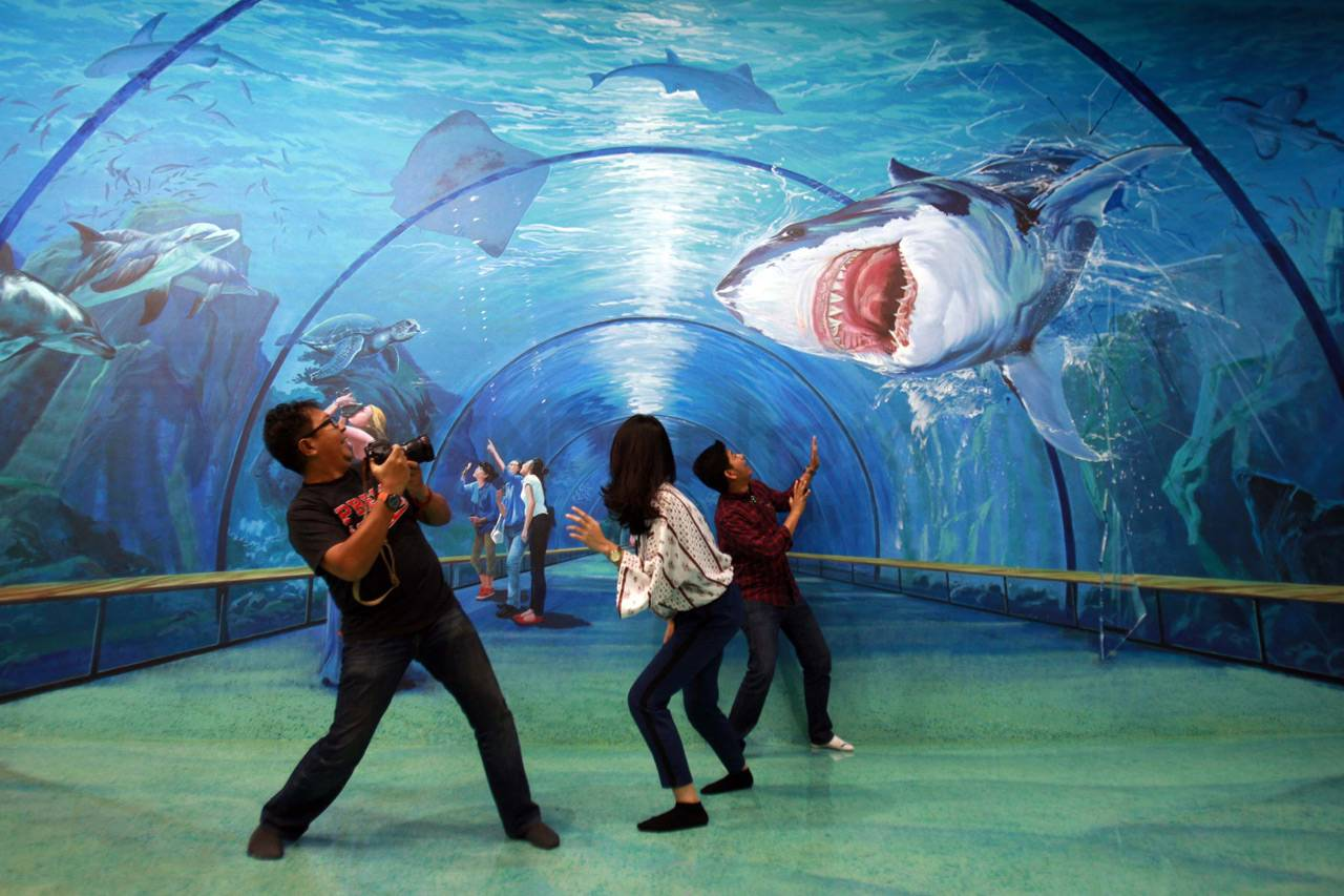 Foto Melihat Museum 3d Amazing Art World Bandung 0 Musium