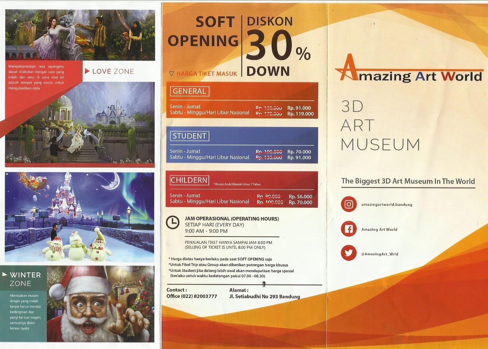 Haneutmoyan Amazing Art World Bandung Musium 3d Kota