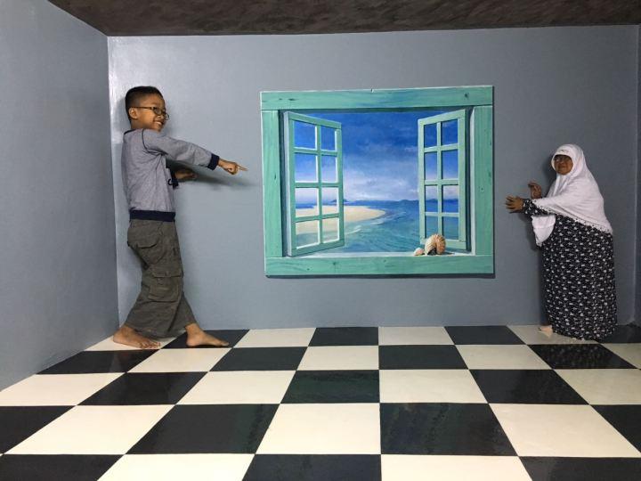 Liburan Bedol Desa Museum 3d Amazing Art World Bandung Terbesar