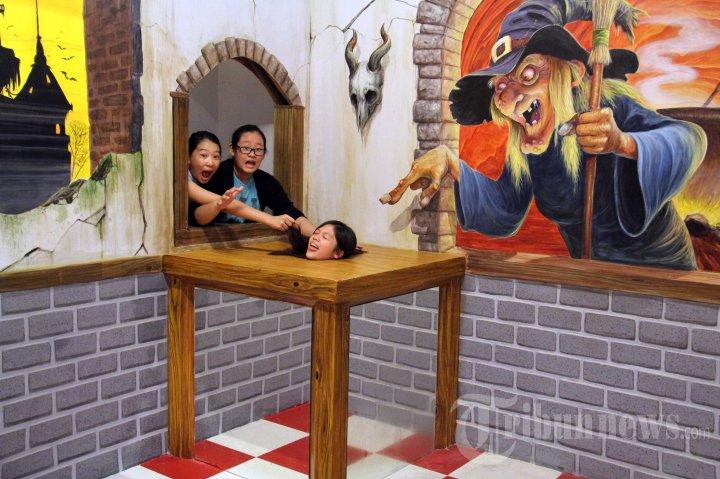 Museum 3d Trick Art Bali Foto 4 1595796 Tribunnews 20150508