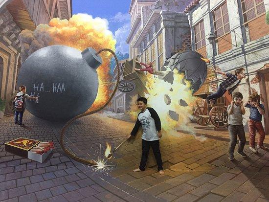 Photo0 Jpg Picture Amazing Art World Bandung Tripadvisor Musium 3d