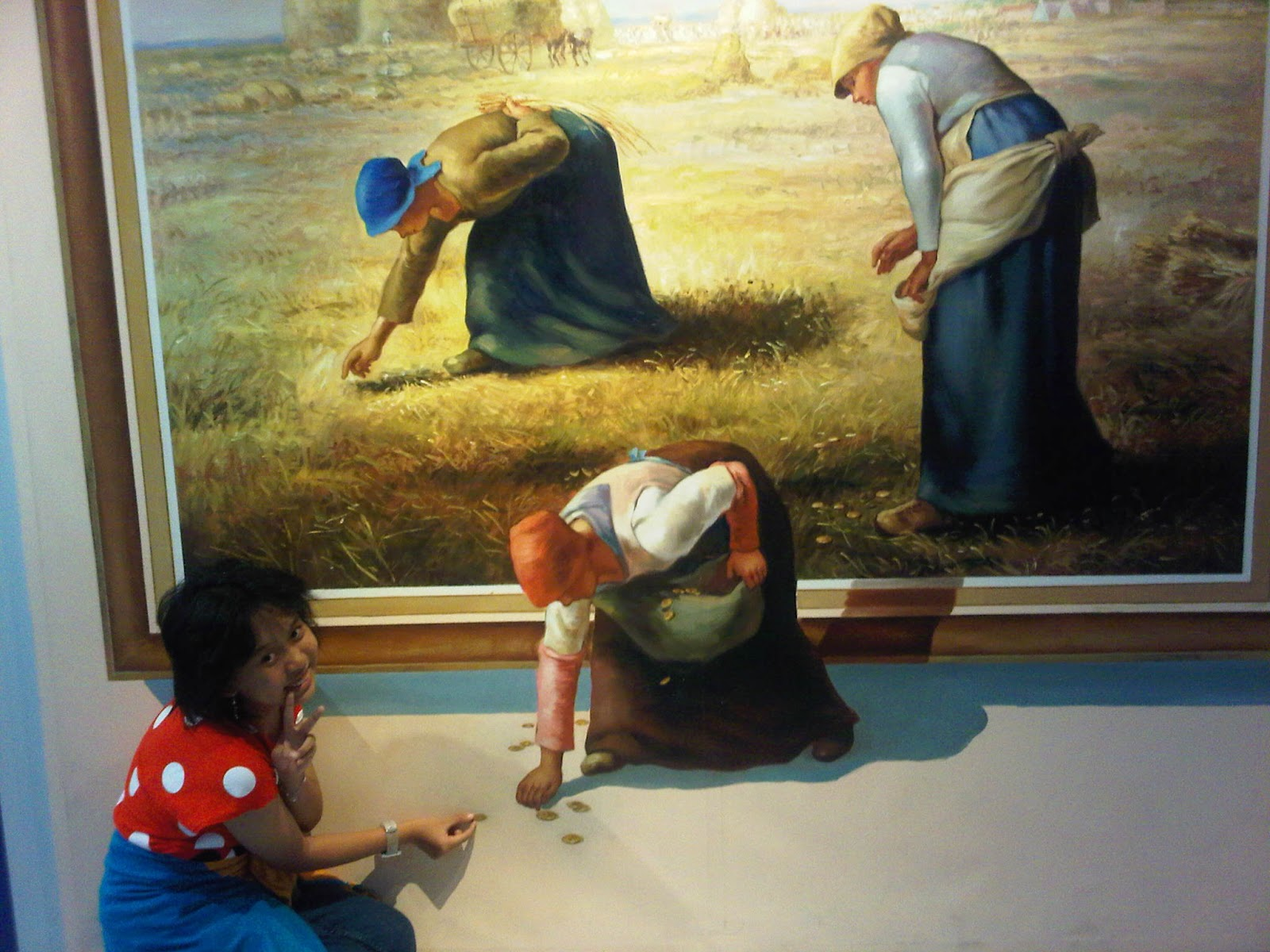 Rinvan Trip Moments Trick Art 3d Museum Membuat Latar Foto