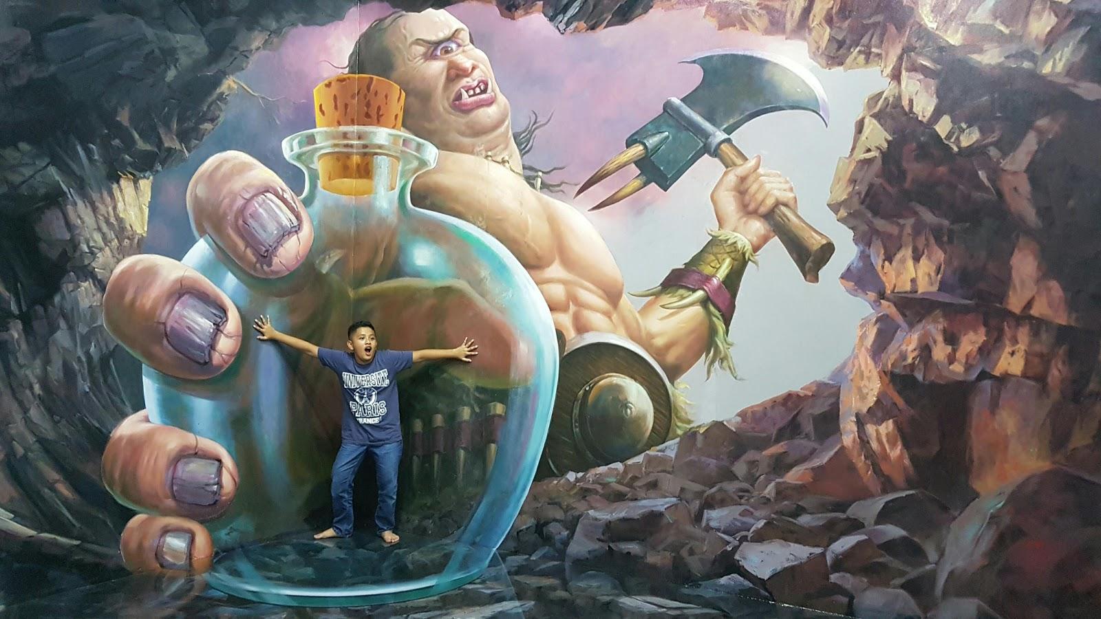 Wisata Selfi Amazing Art World 3d Museum Bandung Nyeritain Musium