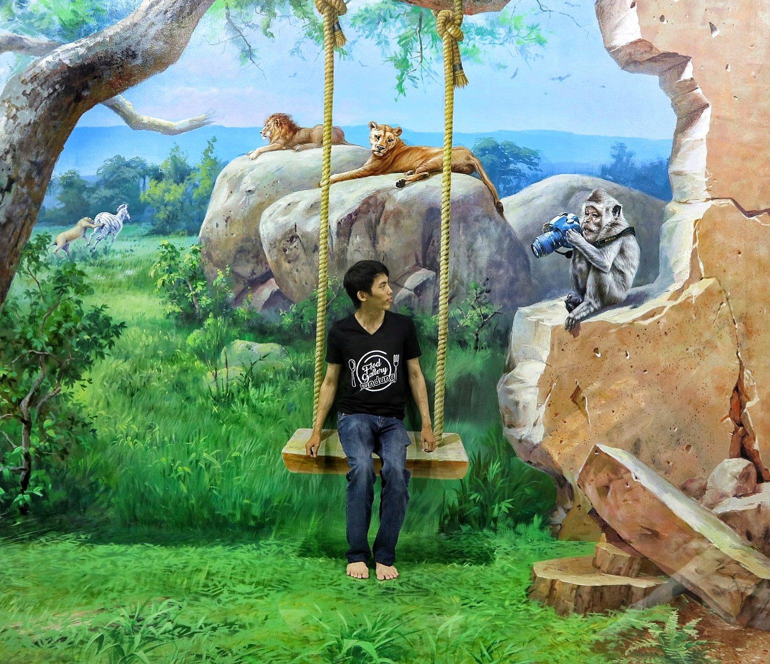 Wow Selfie Kekinian 3d Art World Bandung Rajatourbandung Musium Kota