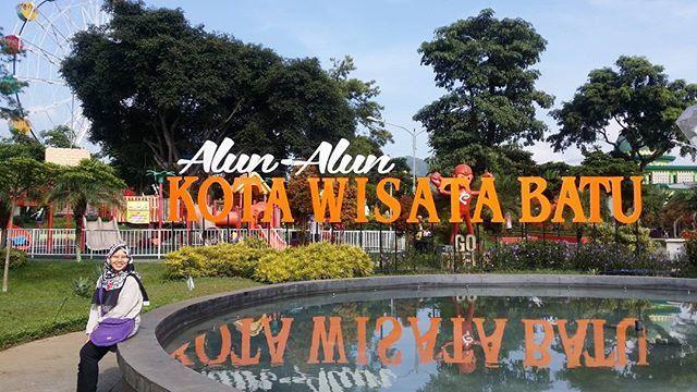 Alun Kota Batu Bikin Iri Indonesia Pemandangan Instagram