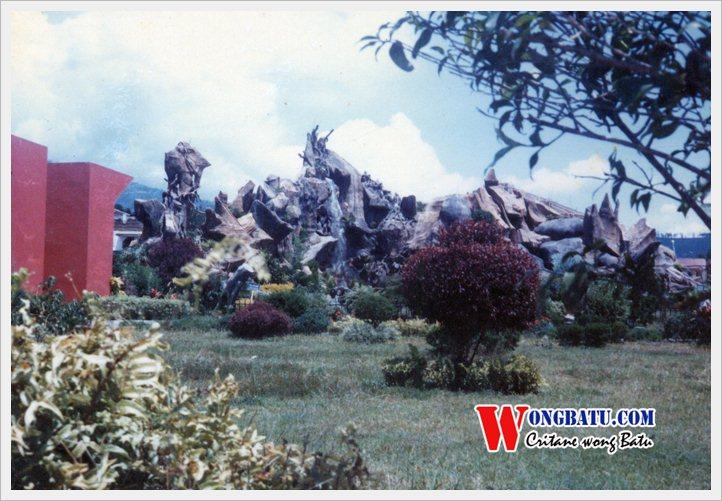 Alun Kota Batu Sekitar 1985 Wongbatu