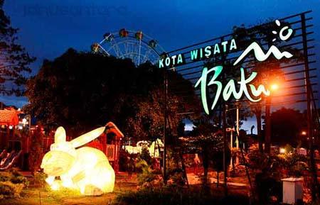 Keindahan Malam Wisata Alun Kota Batu Malang