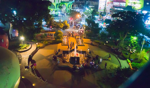 Wisata Kota Batu Malang Meriahnya Alun Malam Hari Kawasan