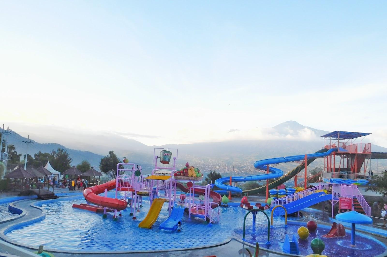 Kusuma Agrowisata Waterpark Kolam Renang Air Hangat Batu Wonderland Kota