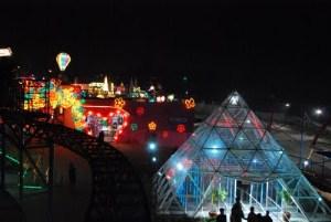 Batu Night Spectacular Bns Malang Gita Wisata Kota