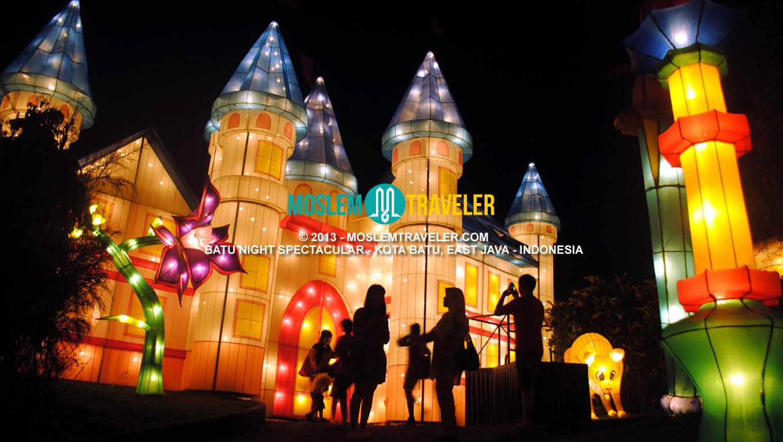 Batu Night Spectacular Bns Malang Moezanu Rohman Wahana Kota