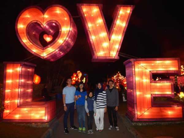 Batu Night Spectacular Bns Wisata Malam Hari Malang Kota