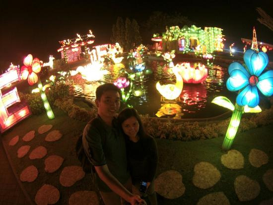Lampion Garden Batu Night Spectacular Romantic Place Bns Kota