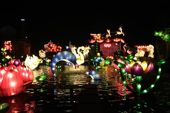Taman Lampion Picture Batu Night Spectacular Bns Kota