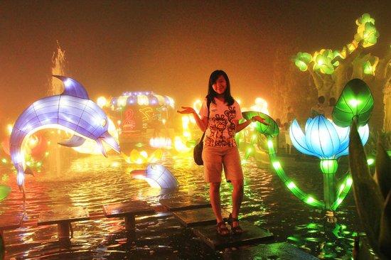 Wahana Mainan Anak Batu Night Spectacular Bns Spot Menarik Berfoto