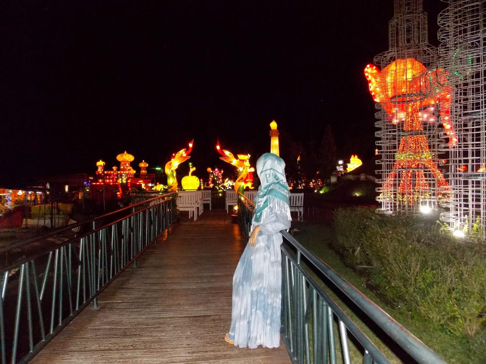 Wisata Indonesia Bns Batu Night Spectacular Sebuah Tempat Rekreasi Kota