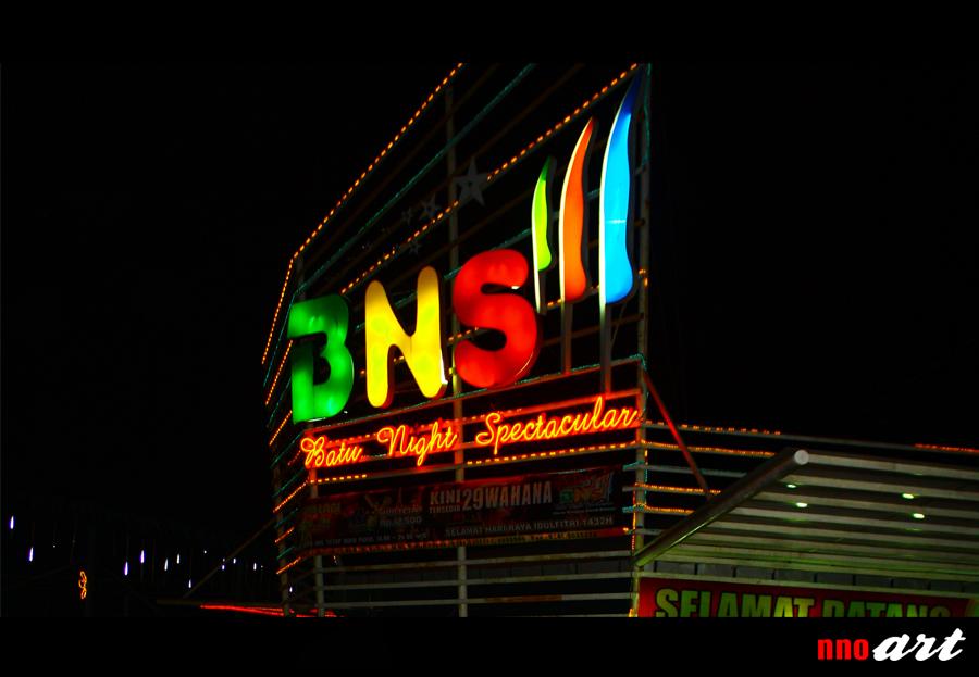 Wisata Kota Batu Bns Gedubar Night Spectacular Malang Nnoart
