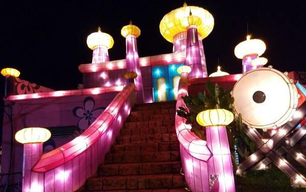 Wisata Kota Batu Bns Gedubar Wahana Night Spectacular