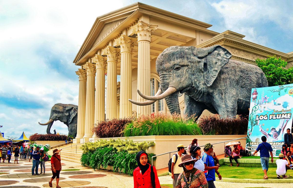 Jatim Park Wahana Wisata Terbaru Kota Batu Malang Agent Bromo