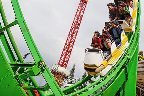 Jawa Timur Park 1 Superman Coaster Kota Batu
