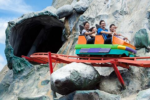 Jawa Timur Park 1 Volcano Coaster Kota Batu