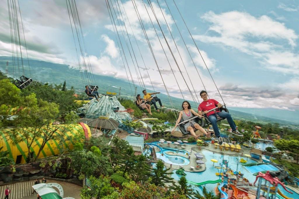 Jawa Timur Park 1 Wisata Batu Malang Sky Swinger Jatim