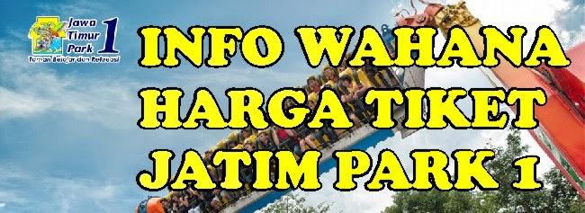 Review Wahana Harga Tiket Jatim Park 1 Jawa Timur Kota
