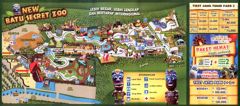 Tempat Wisata Jawa Timur Park 2 Jatim Batu Malang News