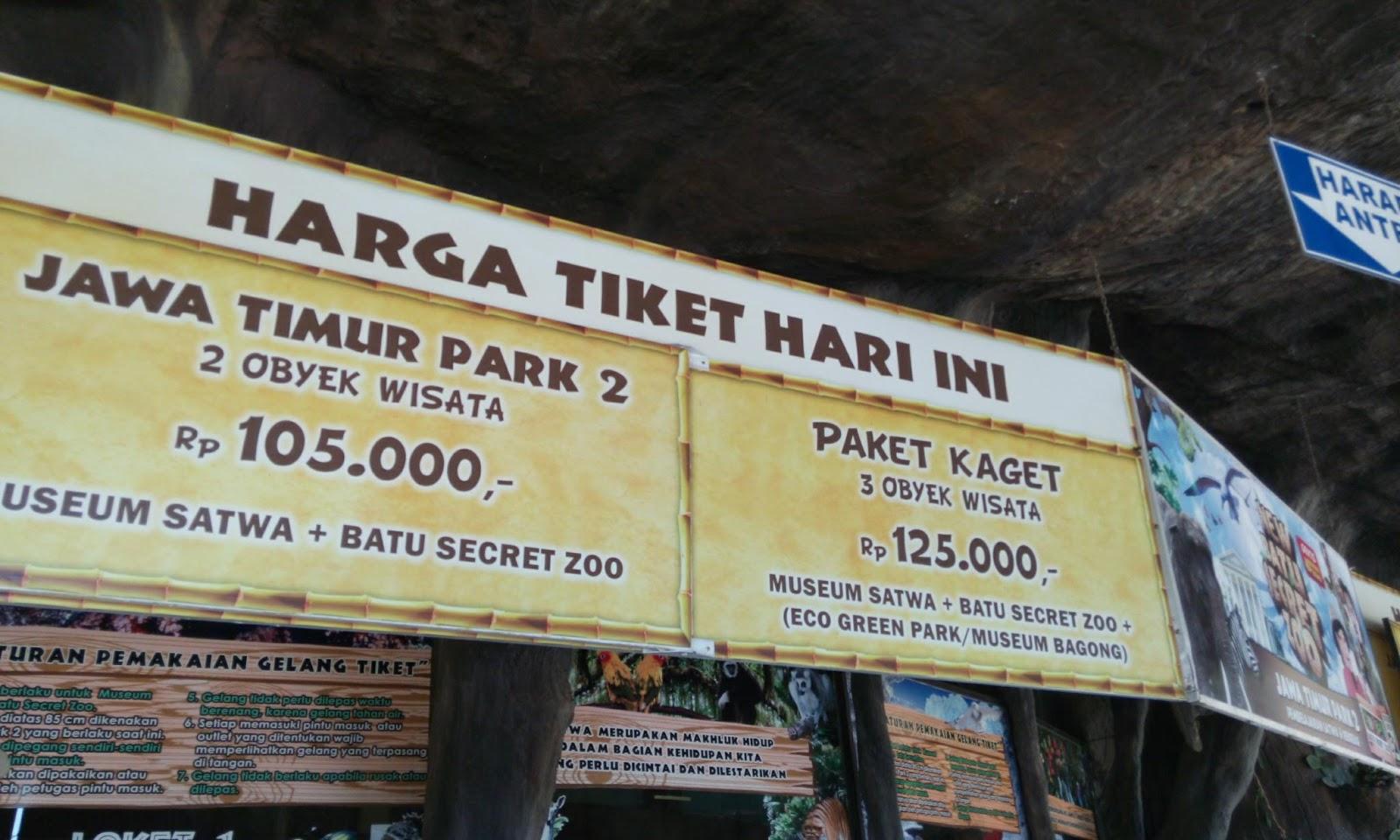 Acaranya Jalan Batu Secret Zoo Jatim Park 2 Malang Jawa
