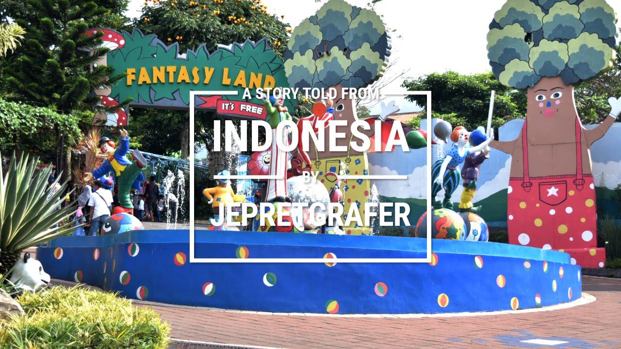 Fantasy Land Fun Outdoor Playgorund Kids Batu Secret Zoo Jawa