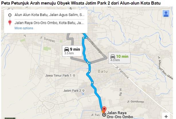 Jatim Park 2 Wahana Bermain Edukasi Terlengkap Malang Peta Lokasi