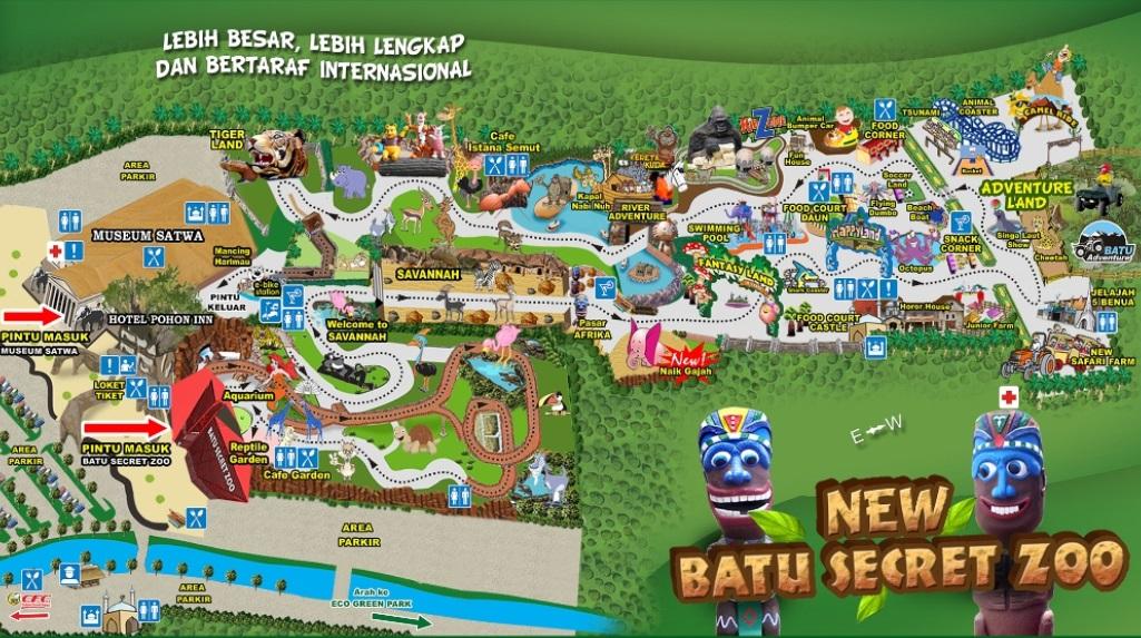 Jawa Timur Park 2 Batu Malang Info Wisata Kota