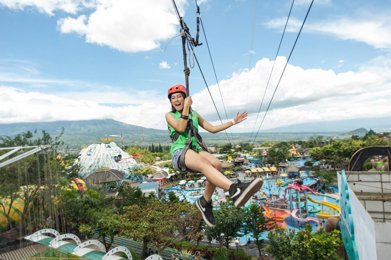 Tempat Wisata Jawa Timur Park Berada Jalan Kartika 2 Kota