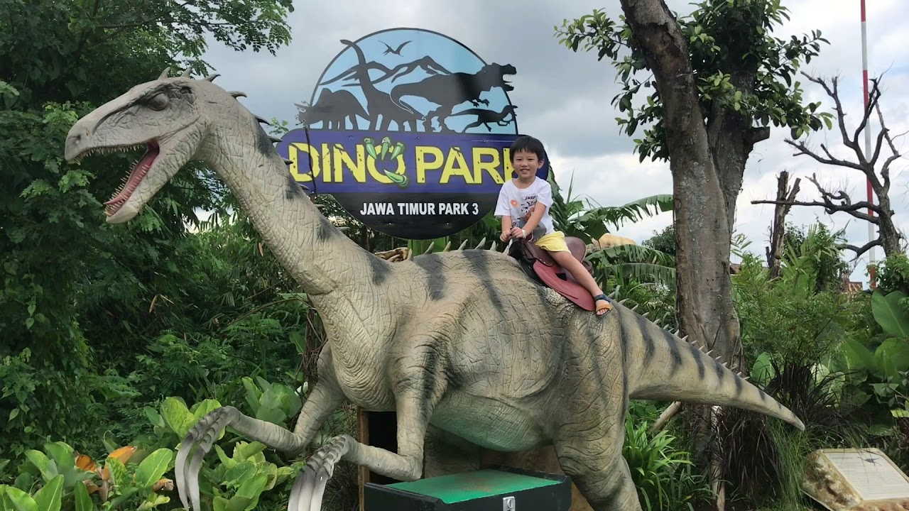 Dino Park Jatim 3 Batu Malang December 2017 Youtube Jawa