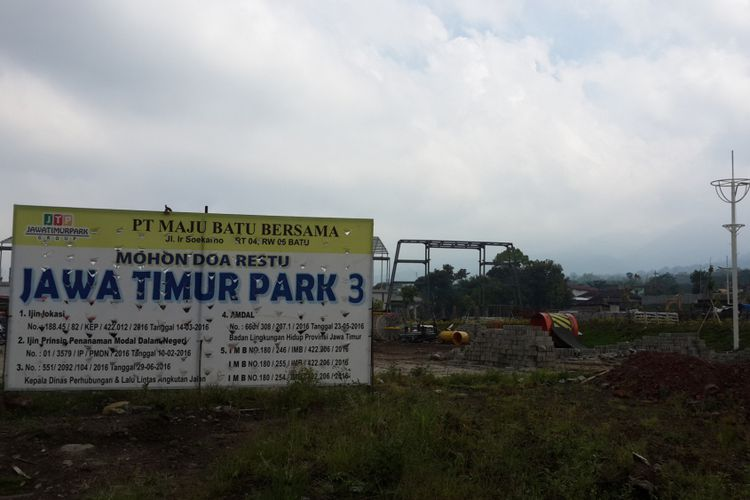 Satu Korban Kecelakaan Kerja Jatim Park 3 Bawah Umur Lokasi