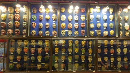 Koleksi Topeng Picture Kingdom Museum Malang Kota Batu