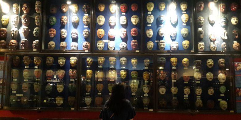Mencerna Nusantara Lampau Indonesia Heritage Museum Kompas Ribuan Koleksi Topeng