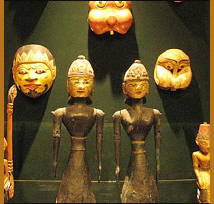 Mengintip Topeng Kematian Kingdom Museum Panduan Kota Batu