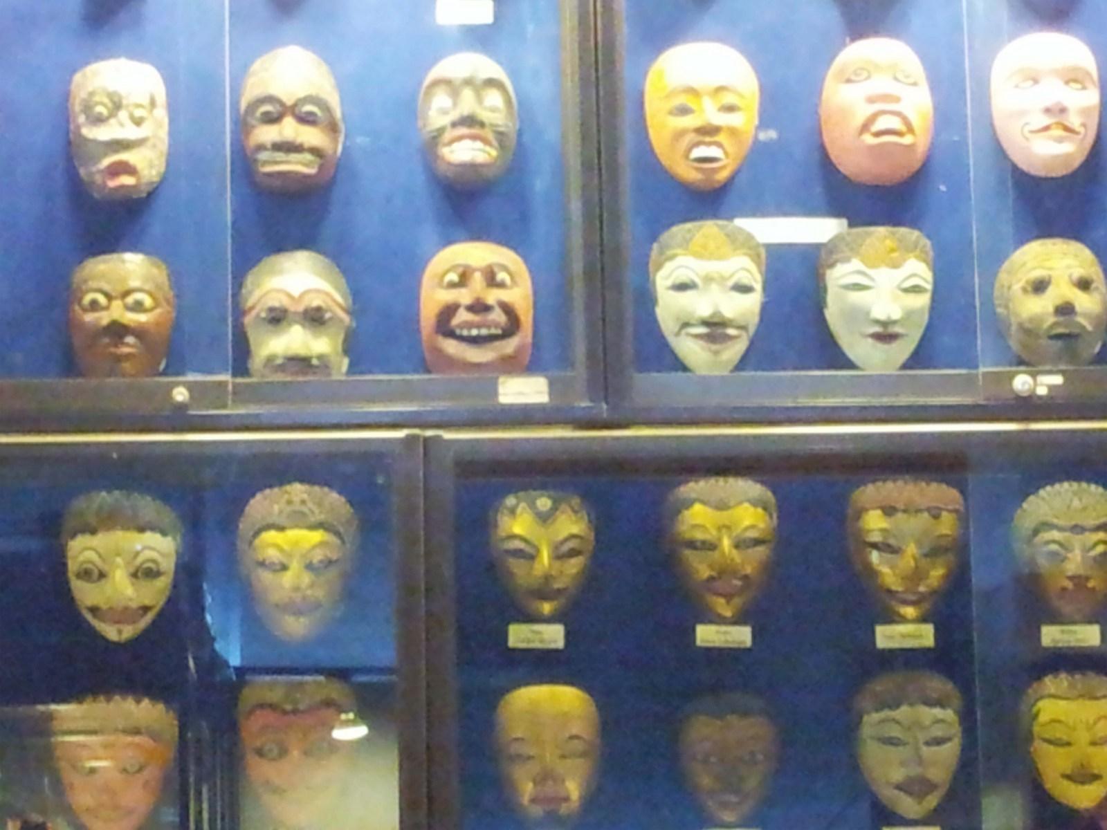 Museum Topeng Kingdom Wisata Edukasi Kota Batu Malang Kabari