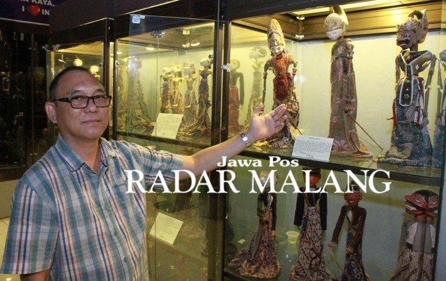 Reno Halsamer Owner Topeng Kingdom 25 Berburu Benda Puluhan Wayang