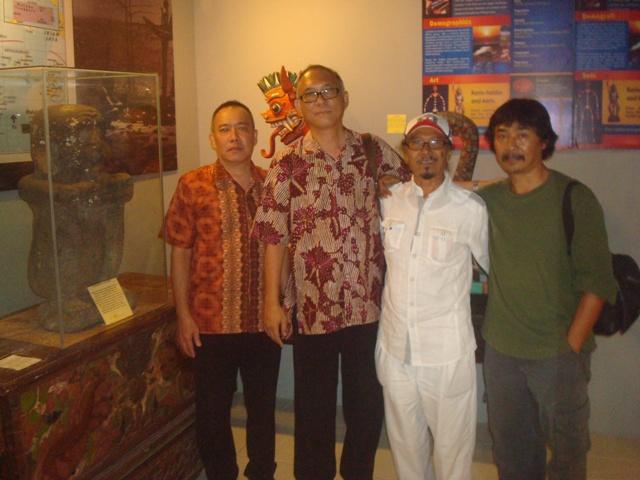 Topeng Kigdom Museum Kota Batu Buah Karya Kolektor Benda Sejarah