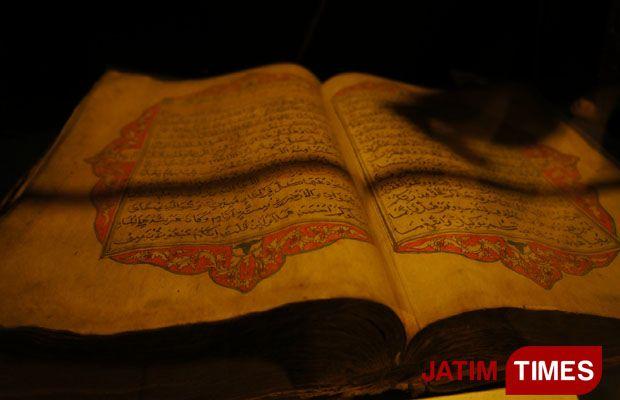 Traveltimes Al Quran Kertas Merang Saksi Bisu Syiar Islam Abad