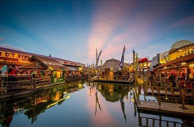 7 Lokasi Wisata Sunset Malang Raya Ilovemalang Net Pasar Apung