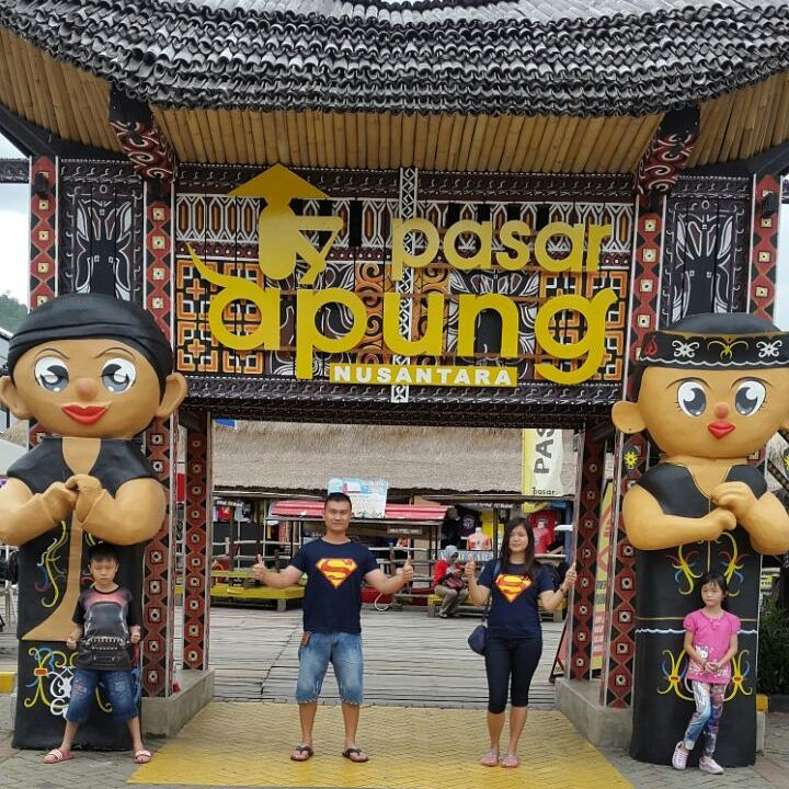 Gerbang Pasar Apung Nusantara Batu Traveling Dulu Foto Johanes Hans