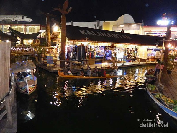 Kota Batu Punya Pasar Apung Seindah Jatim Park Jawa Timur
